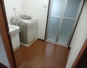 与謝野町O様邸洗面脱衣室リフォーム工事2